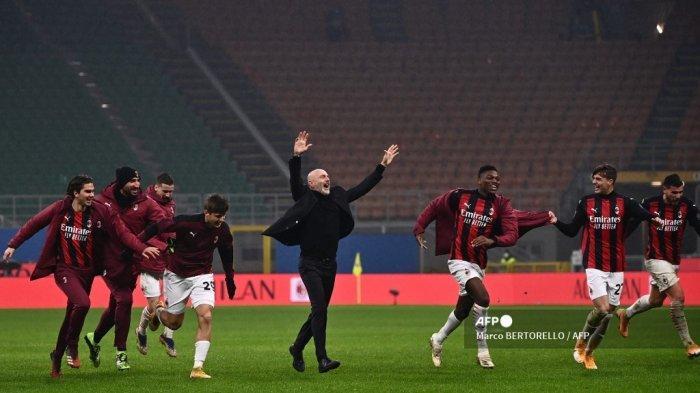 Lumat Lazio, Sfefano Pioli Ungkap Rahasia AC Milan Belum Pernah Kalah