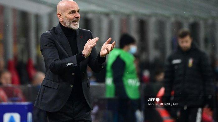 UPDATE Hasil Liga Eropa - Pengakukan Bos AC Milan, Stefano Pioli: Rossoneri Mulai Melemah & Lelah