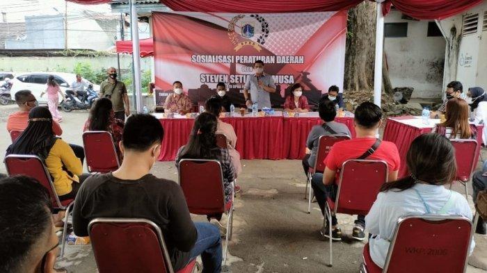 Gelar Sosialisasi Peraturan Daerah Tentang Kepemudaan, Steven Setiabudi Musa Hadirkan Dua Narsum