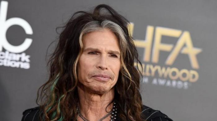 Penyanyi yang mewakili grup musik Aerosmith, Steven Tyler. (NY Daily News/AP/Invision/Jordan Strauss)