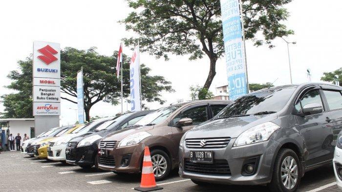 Stok mobil bekas di Suzuki Auto Value.