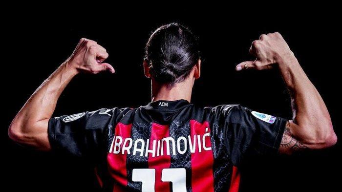 Striker AC Milan, Zlatan Ibrahimovic Gunakan Nomor Punggung 11 di Liga Italia musim depan