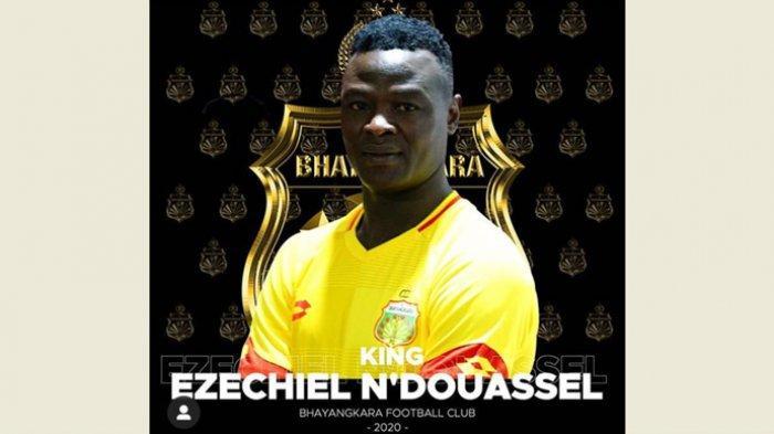 Sempat Diminati Arema dan Bali United, Ini Alasan Ezechiel NDouassel Pilih Bhayangkara FC