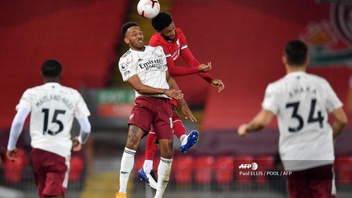 SEDANG BERLANGSUNG Live Streaming Liverpool vs Arsenal Carabao Cup, Tonton di Sini