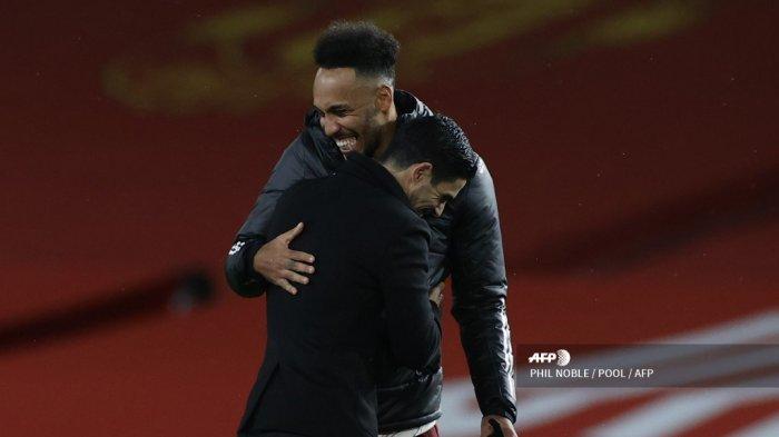 JADWAL Live Streaming Liga Inggris Arsenal vs Man City - Arteta Sumringah, Auba Lewati Masa Sulit