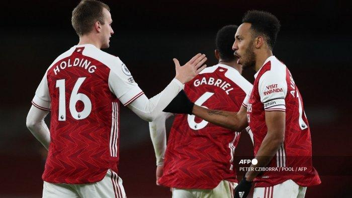 LINK Live Streaming Liga Inggris Arsenal vs Manchester City di Mola TV