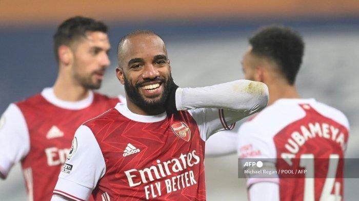 LIVE STREAMING Arsenal vs Everton Liga Inggris, Odegaard Diragukan, Lacazette-Aubameyang Absen