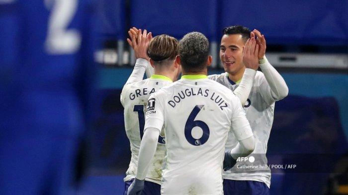 HASIL Klasemen Liga Inggris Tadi Malam, Aston Villa 5 Besar, Sejajar dengan Chelsea, Spurs, dan City
