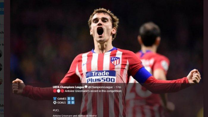 Levante vs Atletico Madrid: Imbang 2-2 Jadi Partai Perpisahan Antoine Griezmann