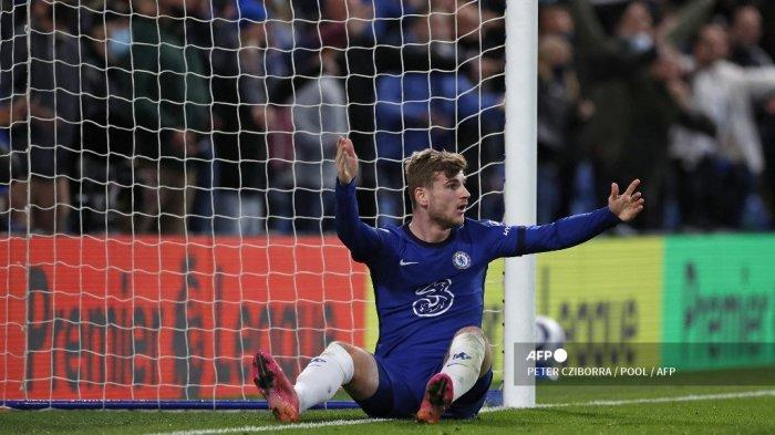 HASIL Babak Pertama Chelsea vs Leicester City Liga Inggris, Dua Gol Timo Werner Dianulir, Skor 0-0