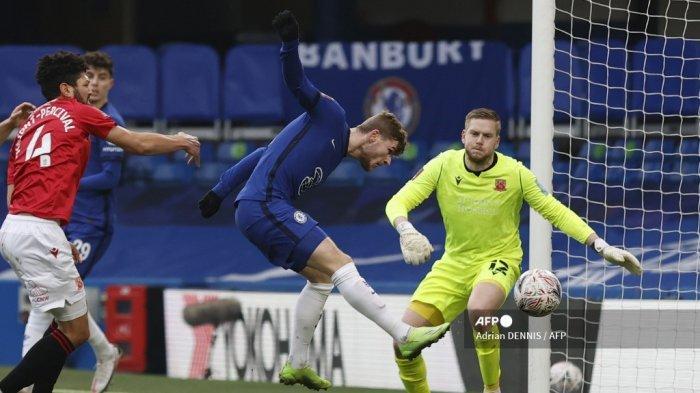 HASIL Chelsea vs Morecambe, Reaksi Lampard saat Werner & Havertz Cetak Gol Kemenangan The Blues