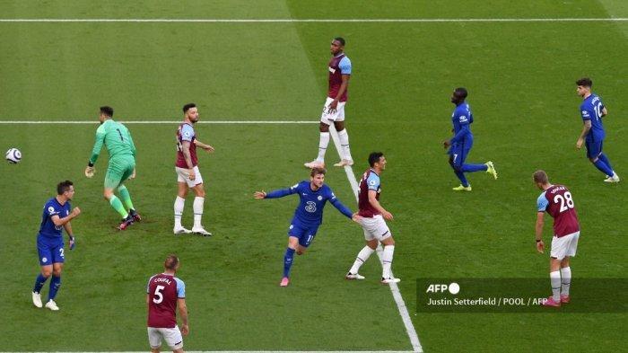 HASIL West Ham vs Chelsea Liga Inggris, Menang Tipis, The Blues Ketatkan Persaingan Empat Besar