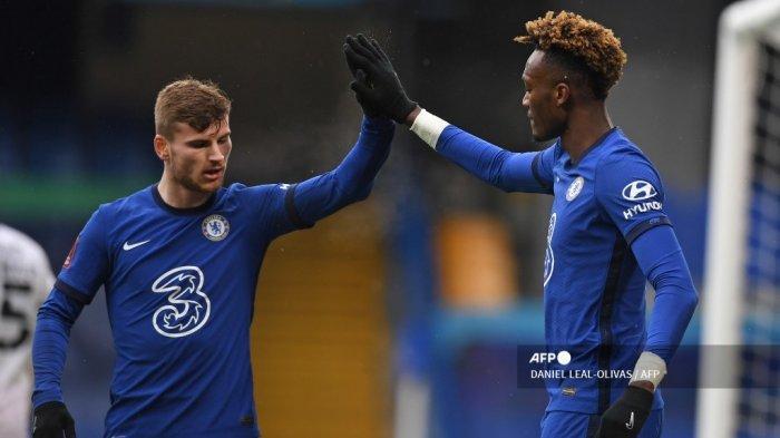 HASIL BABAK PERTAMA West Ham vs Chelsea Liga Inggris: Timo Werner Bawa The Blues Unggul 0-1