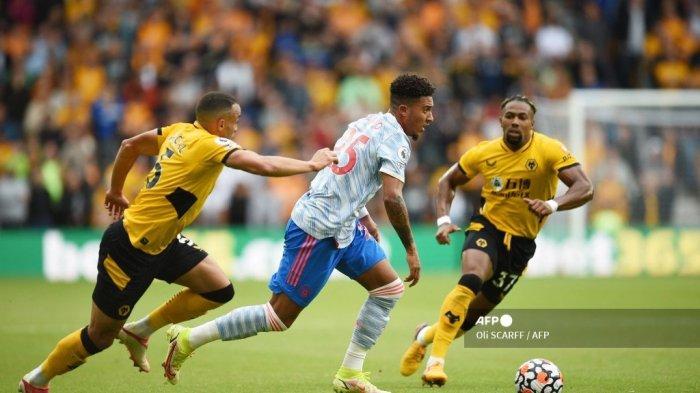 Masalah Jadon Sancho di Manchester United, Terjepit Bruno Fernandes dan Pogba hingga Skema Solskjaer