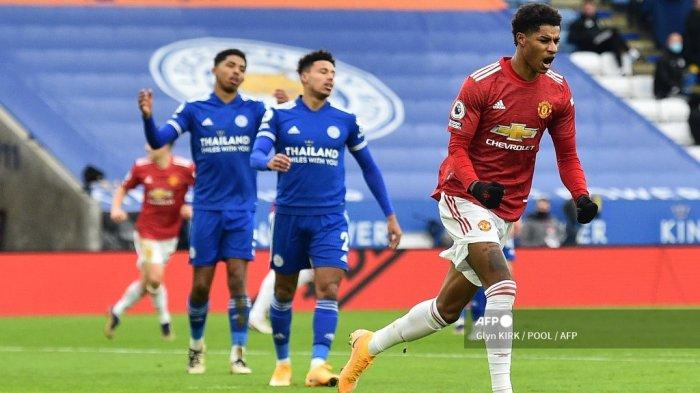 Live Streaming Manchester United vs Newcastle, Marcus Rashford Bisa Kembali Lukai The Magpies