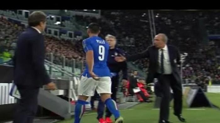 Pencoretan Graziano Pelle dari Timnas Italia Hanya Sementara