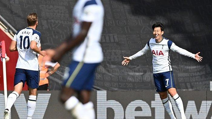 Babak 1 Spurs vs MU, Gol Cavani Dianulir VAR, Tuan Rumah Justru Unggul Lewat Son Heung-Min