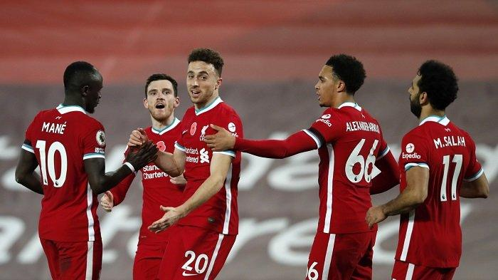 Fakta Unik Kemenangan Liverpool atas West Ham: Keangkeran Anfield hingga Makna Gol Diogo Jota
