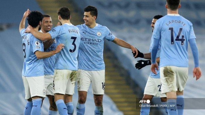 SUSUNAN PEMAIN & Live Streaming Manchester City vs Manchester United, Ini Link Nonton di HP