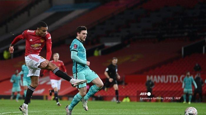 Jadwal Live Streaming Liga Inggris, Manchester United vs Sheffield, Mason Greenwood Diragukan Tampil