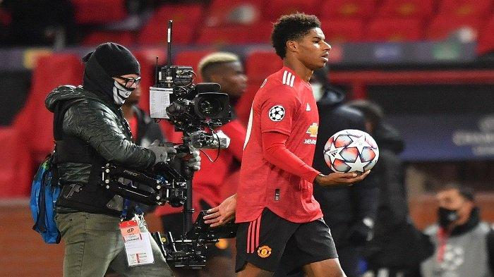 Hasil Babak I Manchester United vs PSG: Gol Rashford Jaga Peluang MU Lolos 16 Besar Liga Champions