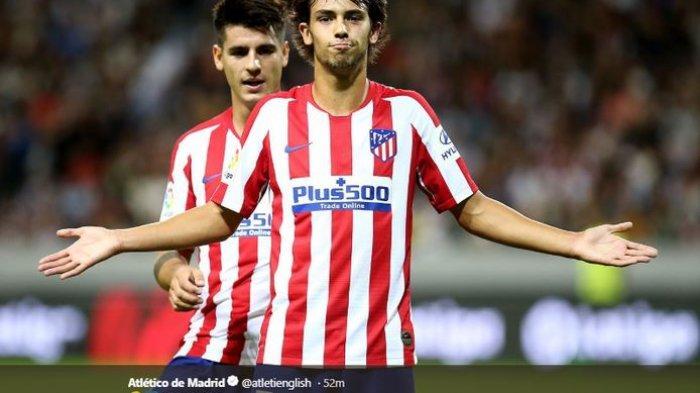 Striker muda Atletico Madrid, Joao Felix.