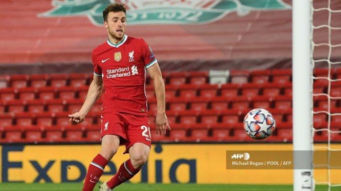 SEDANG BERLANGSUNG Live Streaming Mola TV, Liverpool vs Leicester City, Panggung Bagi Diogo Jota
