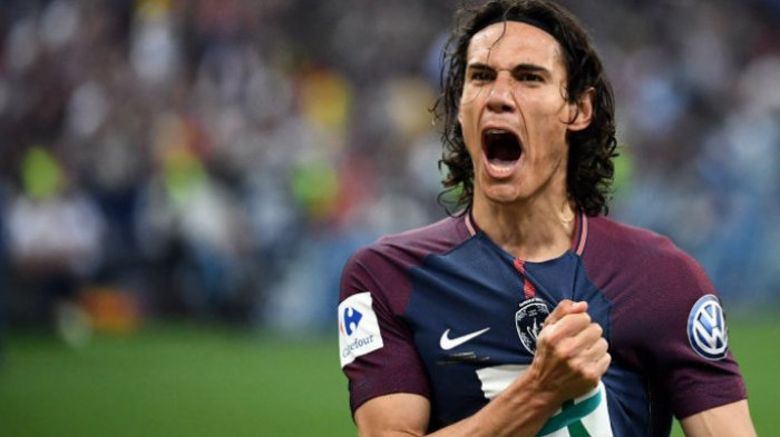 Striker PSG, Edinson Cavani
