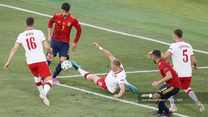 Starting Line-up Slovakia Vs Spanyol, Morata Tetap Starter Saat La Furia Roja di Situasi Gawat
