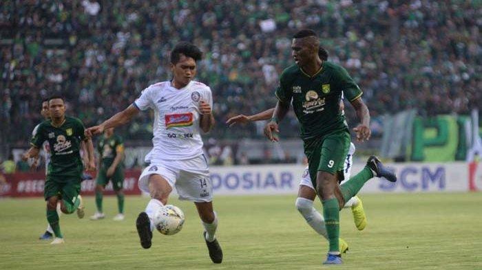 Amido Balde Dinilai Berperilaku Tak Pantas Saat Laga Persebaya Vs Arema FC, Ini Sikap Bajul Ijo