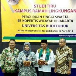 Studi Tiru Kampus Ramah Lingkungan 45 PTS  se-Kopertis Wilayah III Digelar di UBL Jakarta