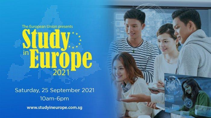 Study In Europe 2021 Digelar pada 25 September, Dihadiri 21 Negara Eropa dan 250 Universitas