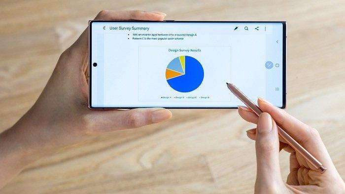 Stylus S Pen Samsung Galaxy Samsung Galaxy Note20 dan Samsung Galaxy Note20 Ultra