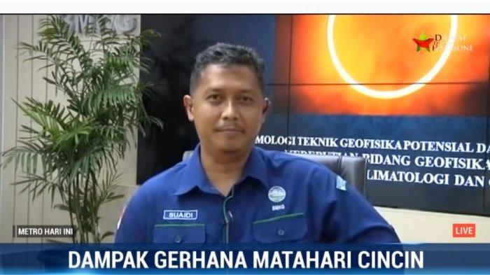 Soal Fenomena Gerhana Matahari Cincin, BMKG: Tidak Berdampak Cecara Signifikan