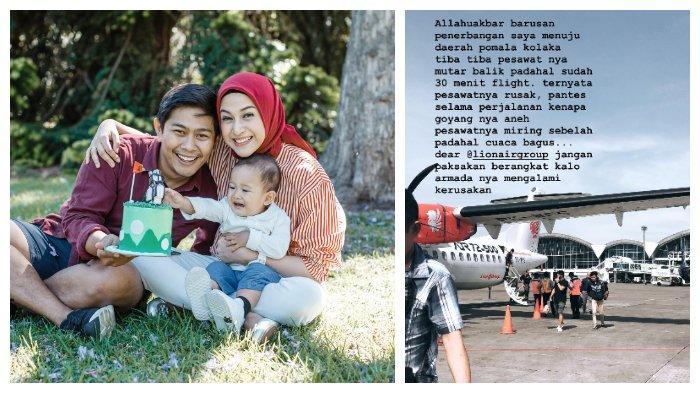 Terbang ke Pomalaa, Pesawat yang Dinaiki Suami Nina Zatulini Terbang Miring hingga Harus Putar Balik