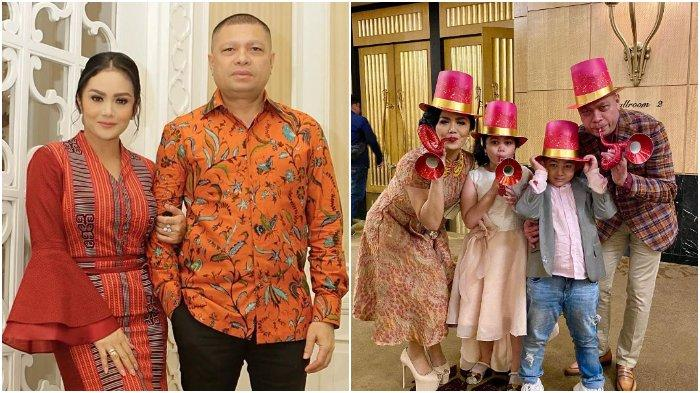Suami Krisdayanti, Raul Lemos merayakan ulang tahun yang ke-50 tahun.