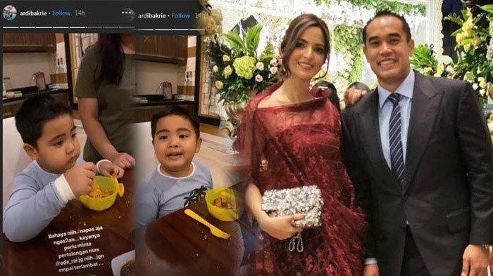 Suami Nia Ramadhani panik lihat anaknya lahap makan