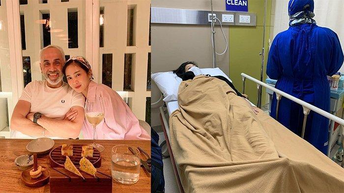 Bunga Zainal Terbaring Lemas di Rumah Sakit, sang Suami Unggah Foto dan Tulis Doa Ini