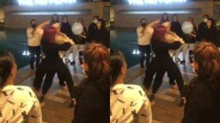 Viral Video Dua Emak-emak Adu Joget di Hotel Pinggir Kolam Renang, Manajemen Dipanggil Polisi