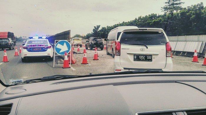 Kurangi Kepadatan Pada Arus Balik, Polisi Alihkan Truk ke Jalan Arteri