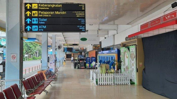 Larangan Mudik Berlaku Hari Ini, Bandara Halim Perdanakusuma Sepi