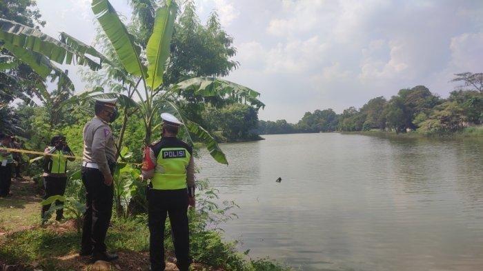 Suasana di Danau Buperta, lokasi jatuhnya helikopter, Jumat (28/5/2021). (TribunJakarta/Nur Indah Farrah Audina)