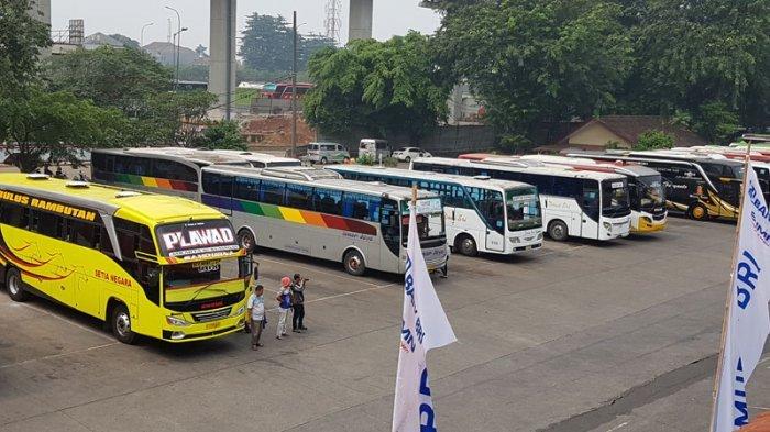 13 Bus Tak Laik Jalan Setelah Ikuti Uji Kelaikan di Terminal Kampung Rambutan Siang Ini