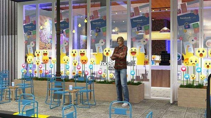 13 September, Facebook akan Buka Cafe di Kawasan Melawai Blok M