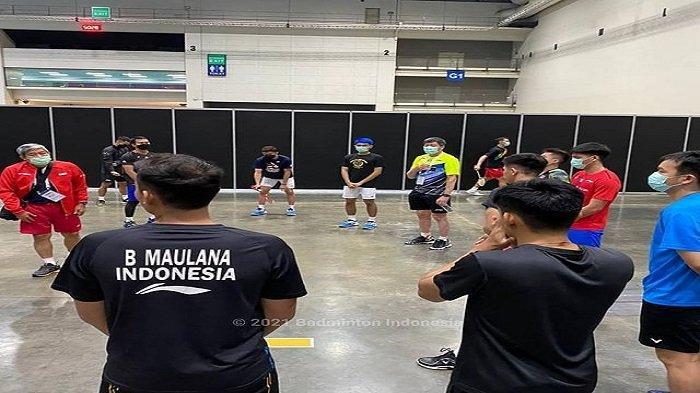 Jelang YONEX Thailand Open, Pebulu Tangkis Indonesia Gelar Latihan Perdana