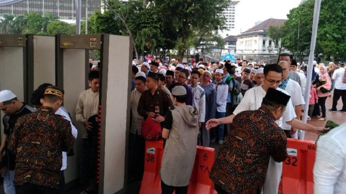 Masjid Istiqlal Dilengkapi Pintu Metal Detector