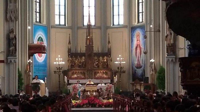 Katedral Jakarta Ubah Jadual Misa Saat Umat Muslim Rayakan Idul Adha