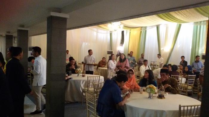 Silaturahmi ke Rumah Ketua DPR, Luhut Panjaitan dan Ignasius Jonan Duduk Satu Meja