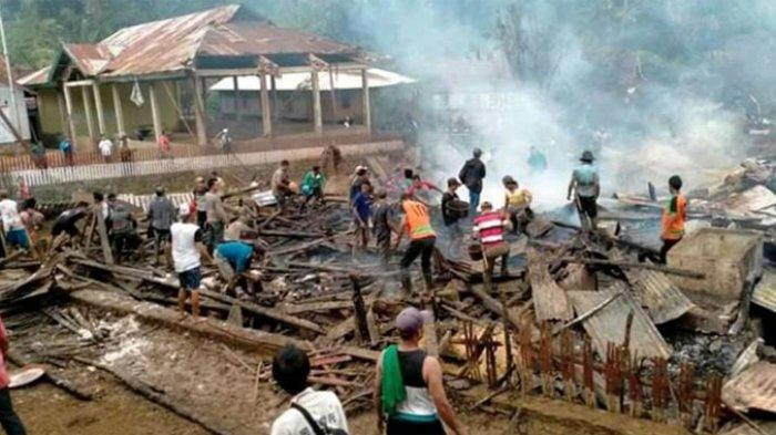 Aki Meledak, 75 Rumah Warga di Sumbawa Ludes Terbakar