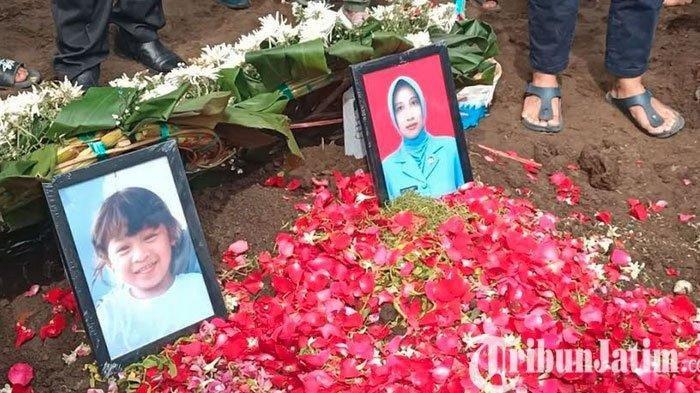 Isak Tangis Sambut Kedatangan Jenazah Rahmania Ekananda & Anak, Satu Putrinya Belum Teridentifikasi